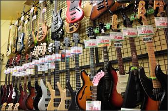 ギター展示