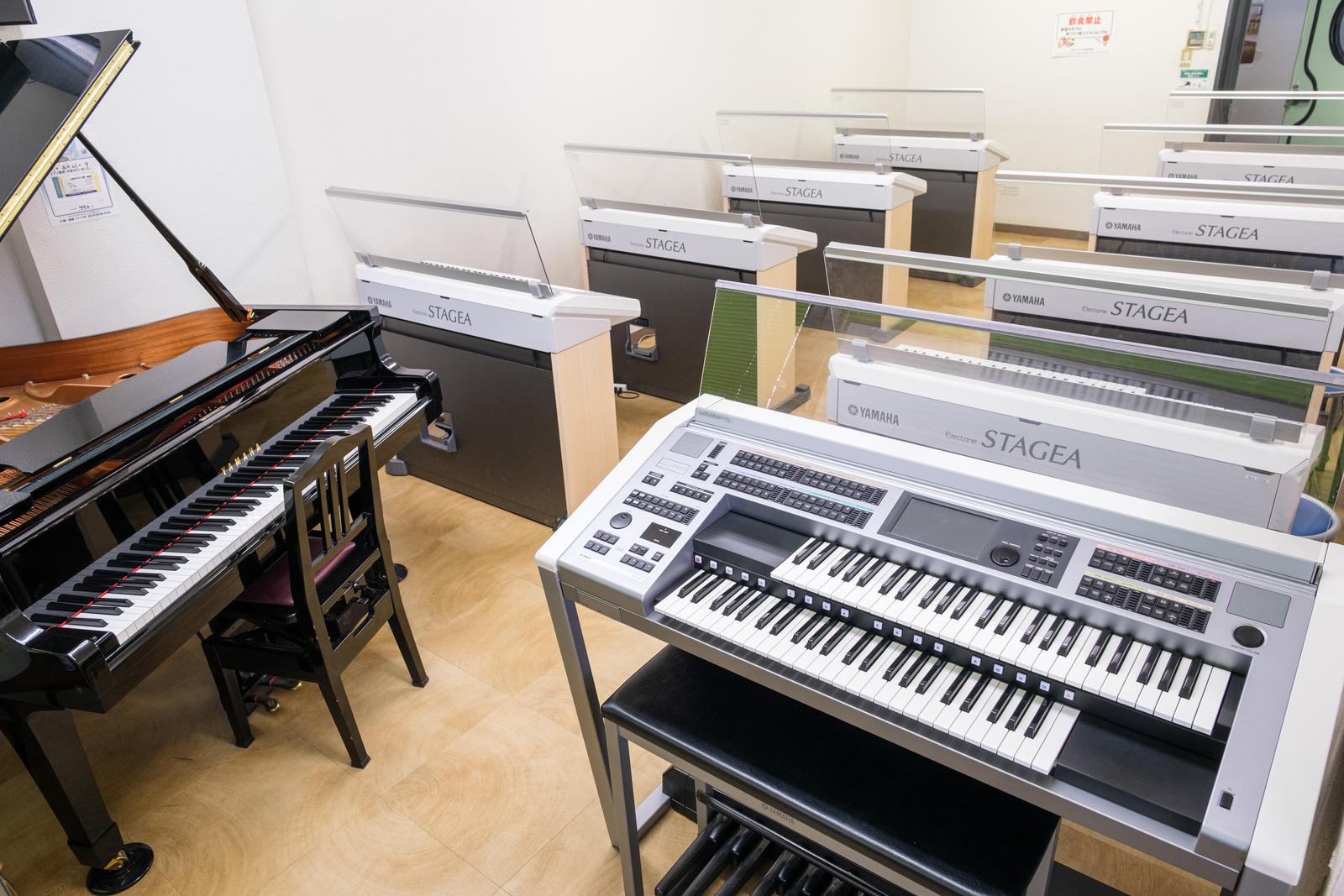 植田店地下ピアノエレクトーン教室