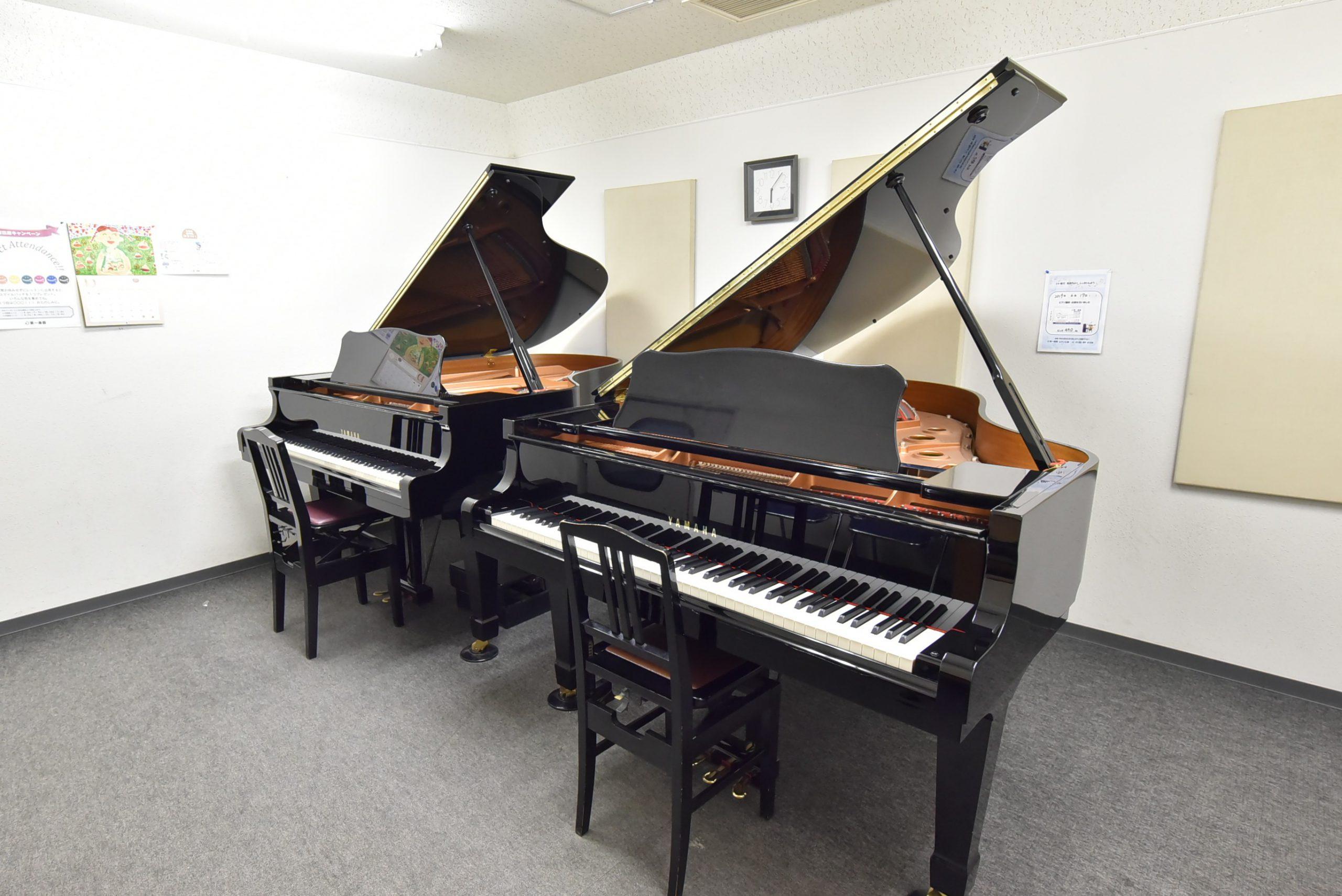 ピアノ専用部屋